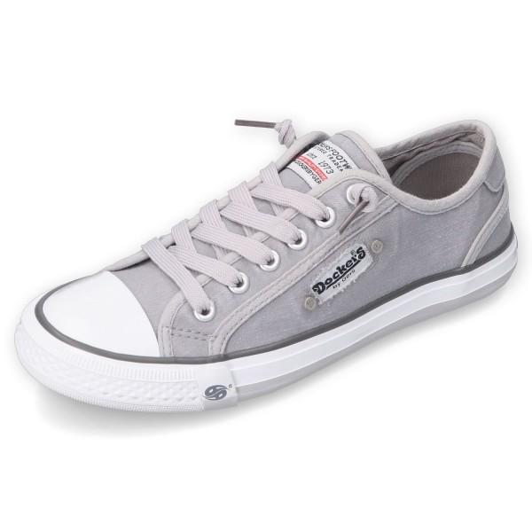 DOCKERS by Gerli Damen Kinder Unisex Sneaker Low Hellgrau