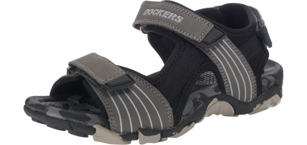 Dockers by Gerli Unisex-Kinder Outdoor Schuhe Sandalen Trekking Grau