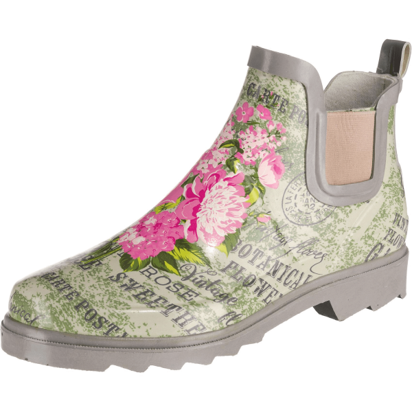 BECK Damen Gummistiefel Kurzstiefel 868 Landlust Multicolor