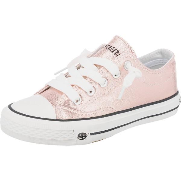 DOCKERS by Gerli Damen Kinder Low Top Sneaker Rosa