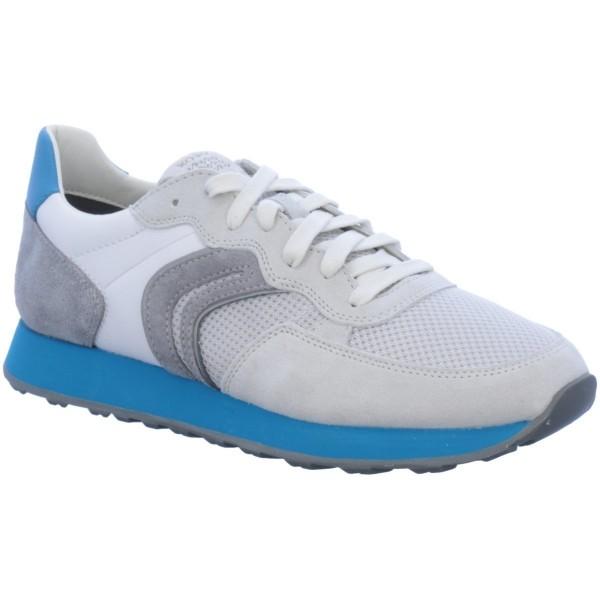 Geox Respira VINCIT B Herren Schuhe Sneaker Halbschuhe Papyrus / Grey