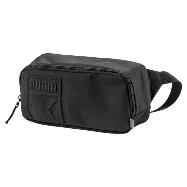 PUMA S Waist Bag / Gürteltasche Schultertasche Umhängetasche Schwarz