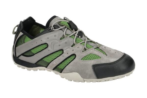 Geox Respira U Snake J Herren Sneakers Halbschuhe Low Top