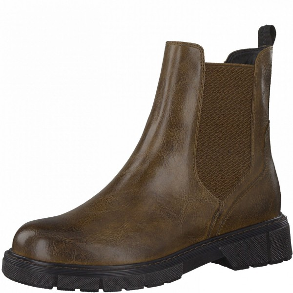 Marco Tozzi Damen Chelsea Boot Stiefelette Schlupfstiefelette Stiefel