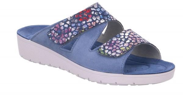Rohde Roma Damen Clogs Pantoletten Sandalette Hausschuhe Farbe Jeans