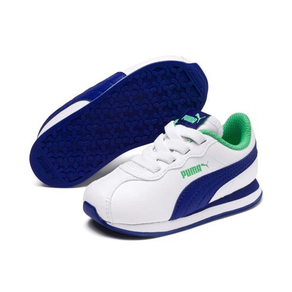 Puma Turin II AC Inf Kinder Unisex Schuhe Sneaker White Surf the Web