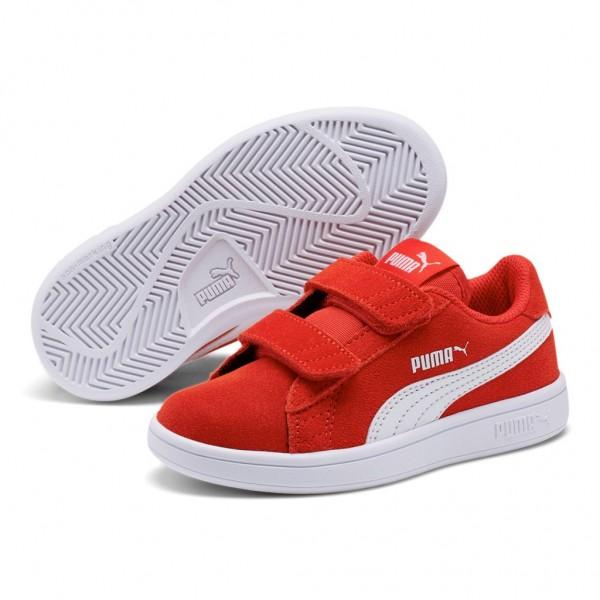 Puma Smash v2 SD V PS Low Top Kinder Schuhe Sneaker Pre School