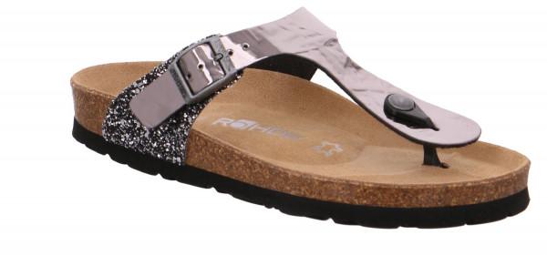 Rohde Alba Damen Sandale Sandalette Zehentrenner