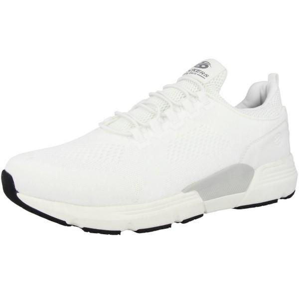 Dockers by Gerli Herren Sportiver Sock Sneaker Low Top Weiß