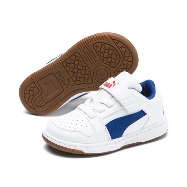 Puma Kinder Rebound LayUp Lo SL v INF Schuhe Sneaker