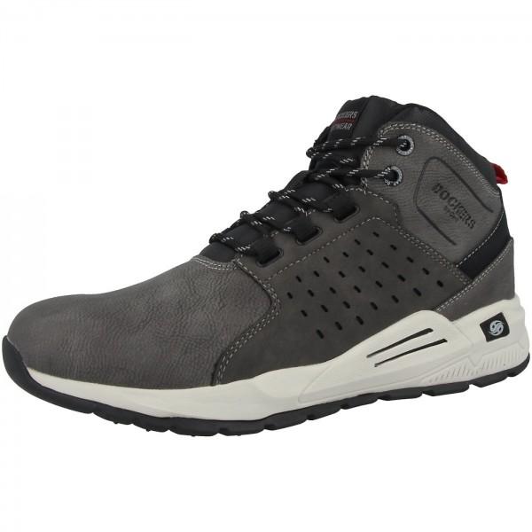 Dockers by Gerli Herren Hohe Sneaker Sneaker Mid Top Dunkelgrau