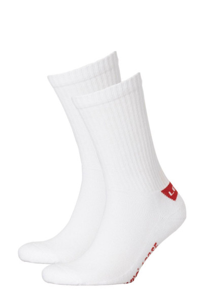 Levi´s Unisex 2-er-Pack Levis 120SF Regular Cut Socks Strümpfe Sportsocken