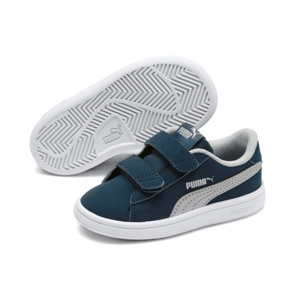 Puma Smash v2 Buck V Inf Low Top Kinder Schuhe Sneaker