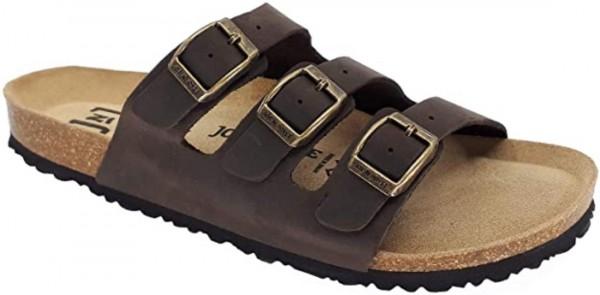 JOE N JOYCE Paris Sandale Sandalette 3 Riemen Hausschuhe Komfort