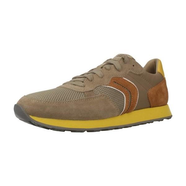 Geox Respira VINCIT B Herren Schuhe Sneaker Halbschuhe Sand / Skin
