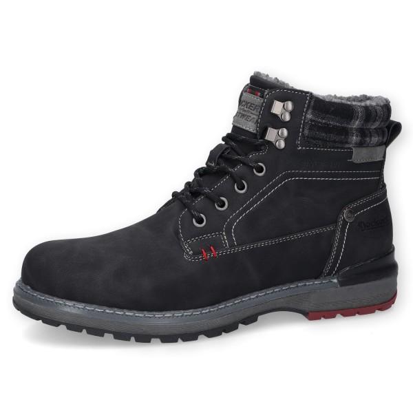 Dockers by Gerli 47BK801 Herren Combat Boots Stiefel Worker Boots gefüttert