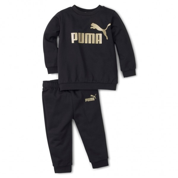 PUMA Minicats ESS Crew Jogger Trainingsanzug Sportanzug Freizeitanzug Tracksuit