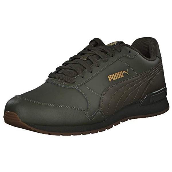 Puma ST Runner v2 Full L Unisex Sneaker Schuhe Forest Night Oliv