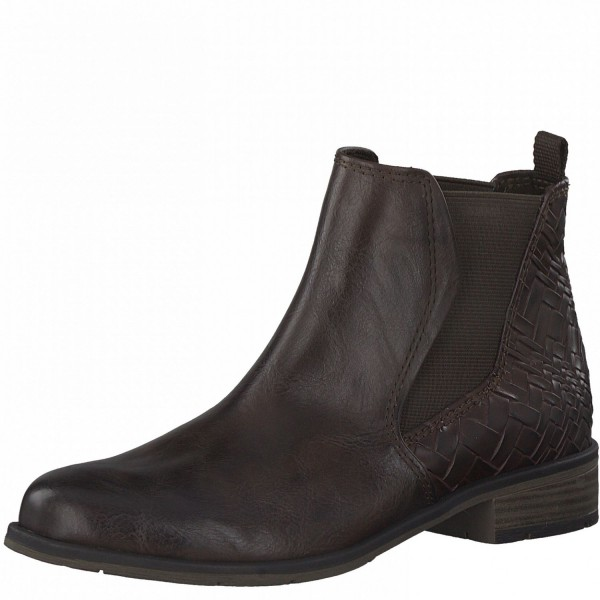 Marco Tozzi Damen Stiefeletten Chelsea Boots Stiefel