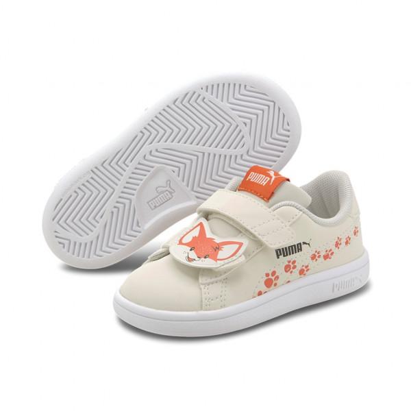 Puma Smash v2 Animals V Inf Low Top Kinder Schuhe Sneaker