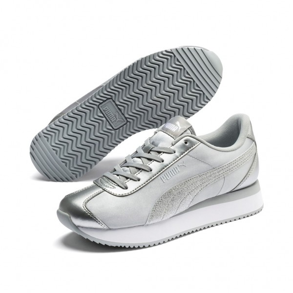 PUMA Turino Stacked Glitter Plateausneakern Streetstyle Sneaker Clubwear