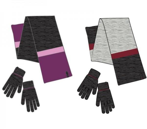 PUMA Fundamentals Knit Set Schal + Handschuhe 052580 Unisex