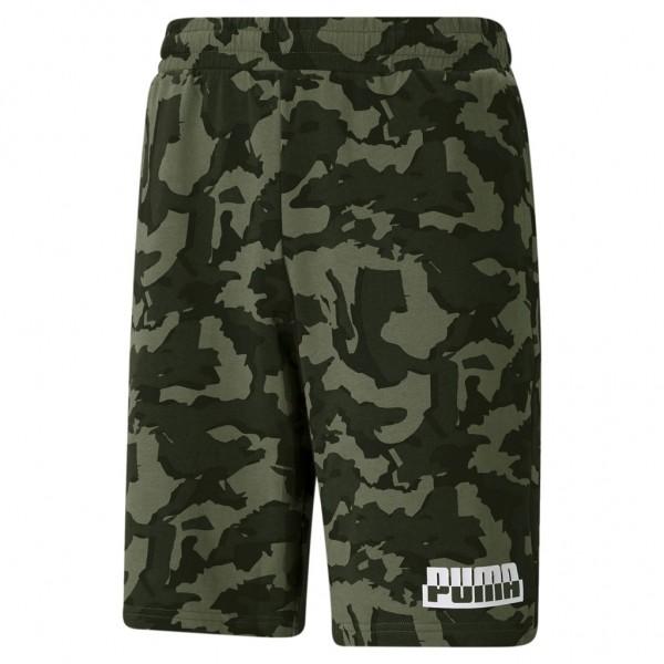 Puma Herren Short CORE Cam0 AOP Shorts Camouflage