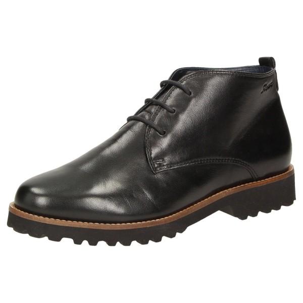 SIOUX Damen Schuhe Halbschuhe Schnürschuhe Chukka Boots MEREDITH-702-XL Schwarz