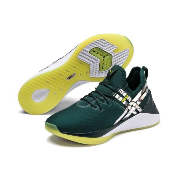 Puma JAAB XT TZ WN'S HYBRID Runner Laufschuhe Fitnessschuhe 192239 Grün