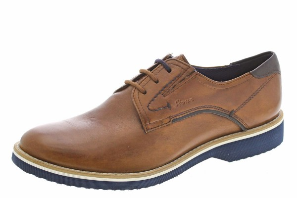 Encanio-702 Business Schuh Derby by SIOUX GERMANY Cognac Braun