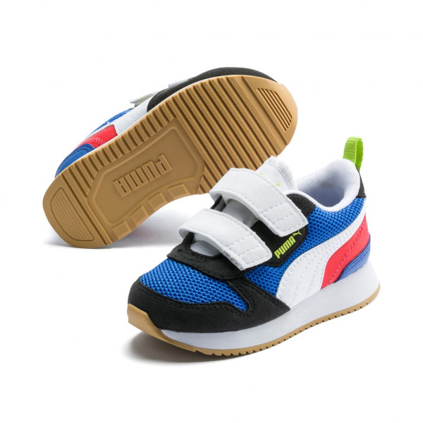 Puma R78 V Inf Unisex Baby Kinder Sneaker Low Top Turnschuhe