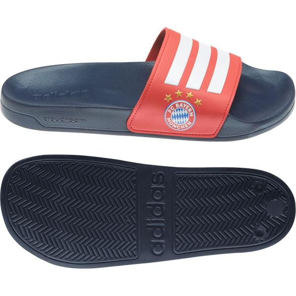 adidas Unisex Adilette SHOWER Badeschuhe Badelatsche FC Bayern München