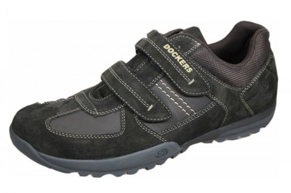 Dockers by Gerli 36HT029 Herren Derby Sneakers Halbschuhe Klettverschluss