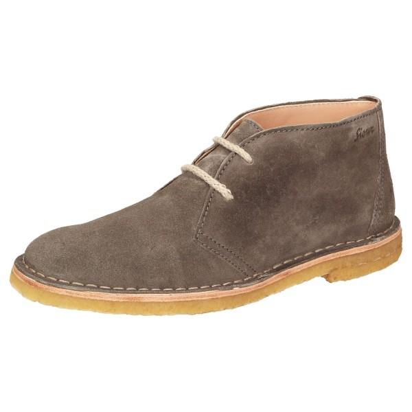 Sioux Damen Grashopper Grash.-D-004 Schnürstiefelette Boots 66020 Grau Braun