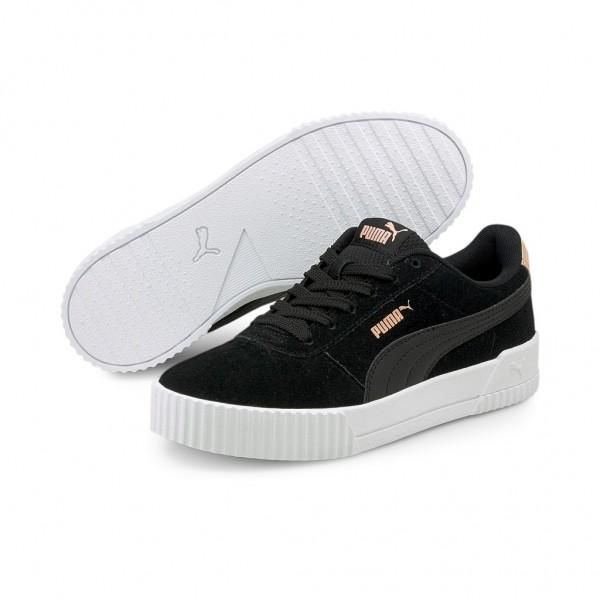Puma CARINA SD Damen Streetstyle Sneaker Clubwear 369864 Puma Black - Apricot Blush