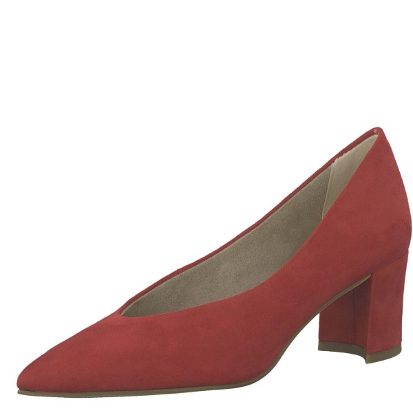 Marco Tozzi Klassische elegante Damen Pumps 2-22416-34 Rot