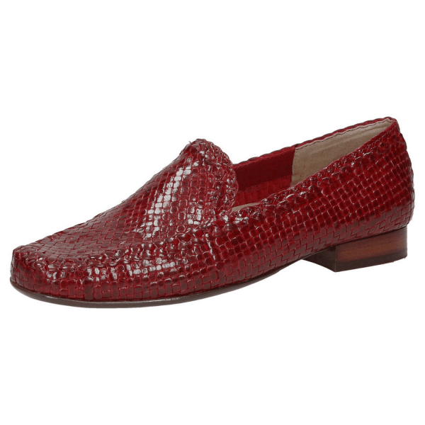 SIOUX Germany Damen Schuhe Slipper 60564 Cordera, Florence, Rosso