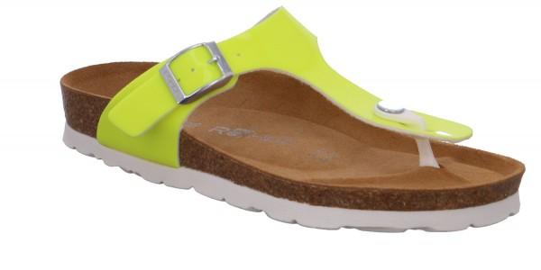 Rohde Alba 5610 24 Damen Sandale Sandalette Zehentrenner Sun Gelb