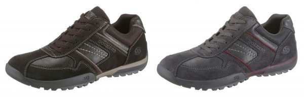 Dockers by Gerli Herren Derbys Halbschuhe Sneakers Schuhe Schnürschuhe