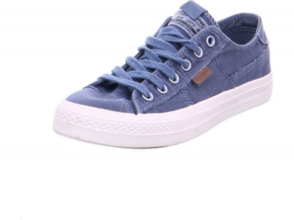 DOCKERS by Gerli Herren Sneaker Washed Canvas Schuhe Blau