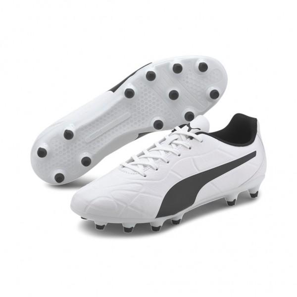 Puma Monarch FG Fußballschuhe Schuhe Nocken Weiß