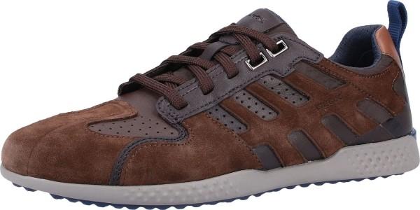 Geox Respira Sport Snake 2 Herren Sneakers Halbschuhe Brown / Coffee