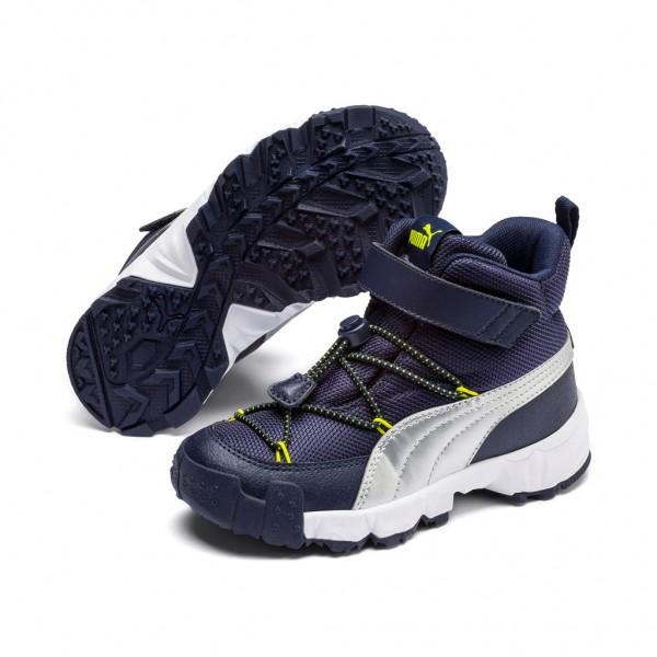 Puma Unisex MAKA V PS Top Kinder Stiefel Outdoor Boots Winterschuhe