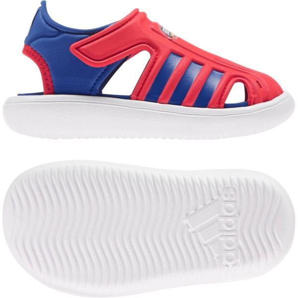 adidas Kinder Sandale Water Sandal I Badesandale Wasserschuhe Marvel Super Hero