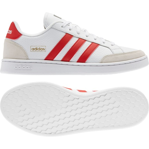 adidas Herren Grand COURT SE Sneaker Schuhe Core Sport Vintage Retro