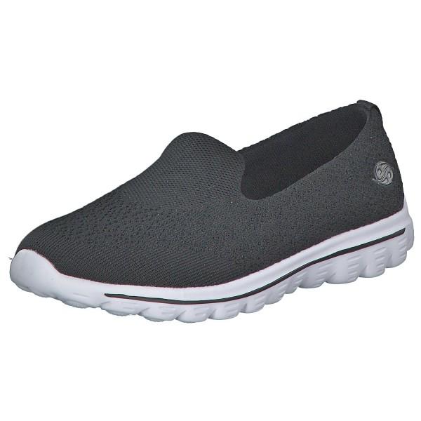 DOCKERS by Gerli Damen Slip-On Sneaker Schuhe Slipper Schwarz
