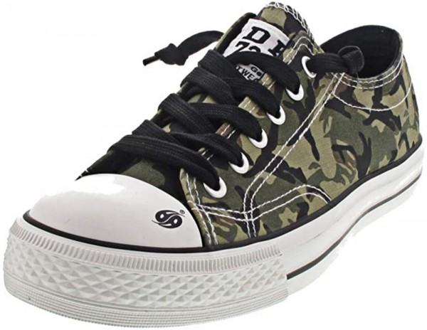 DOCKERS by Gerli Damen Kinder Unisex Sneaker Low Camouflage