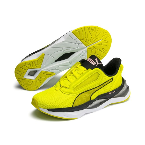 Puma LQDCELL SHATTER XT Shift WN'S Low Top Fitnessschuhe Sneaker Gelb