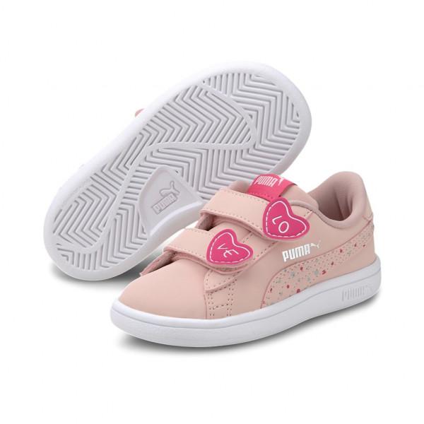 Puma Smash v2 Candy V Inf Low Top Kinder Schuhe Sneaker