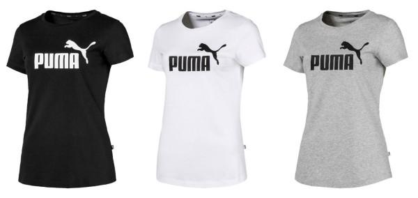 PUMA Damen Woman Essentials ESS Logo Shirt Tee / T-Shirt Kurzarm